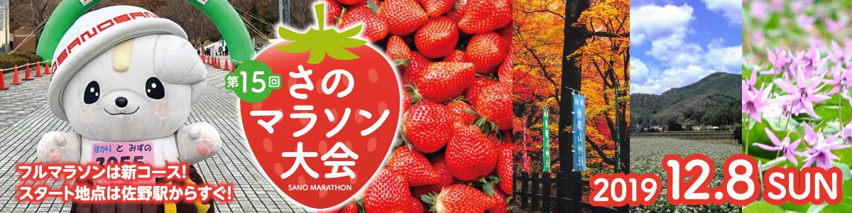 第15回さのマラソン大会【公式】